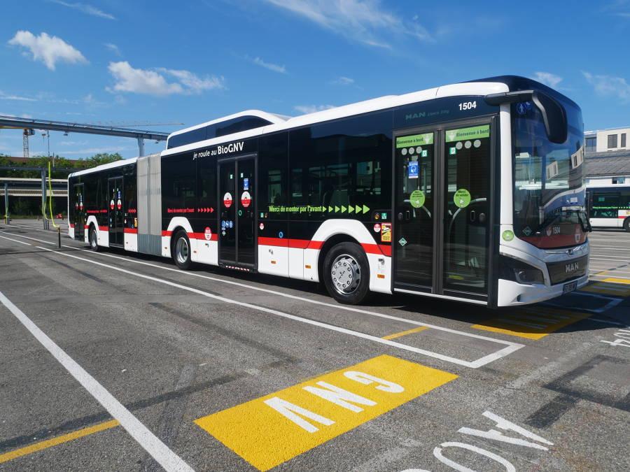 Le Sytral met en service des bus roulant à 100 % au BioGNV sur le réseau de l'agglomération lyonnaise