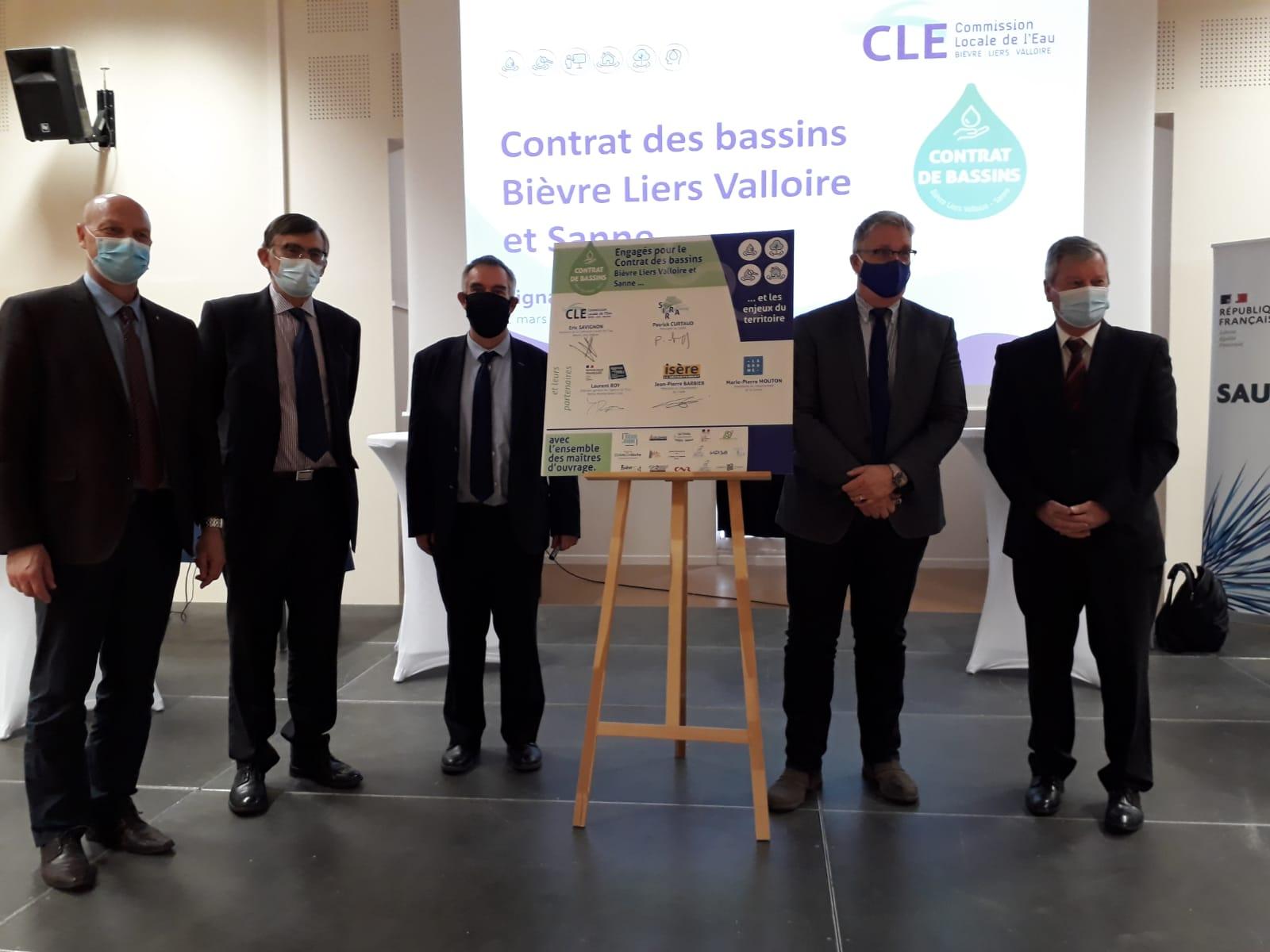 Bièvre Liers Valloire et Sanne: un nouveau contrat de bassin entre Drôme et Isère