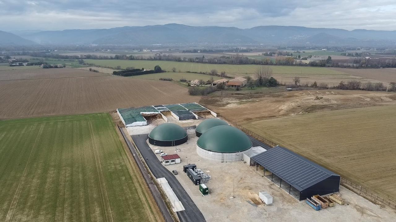 Méthavéore: nouveau site d'injection de biométhane dans la Drôme