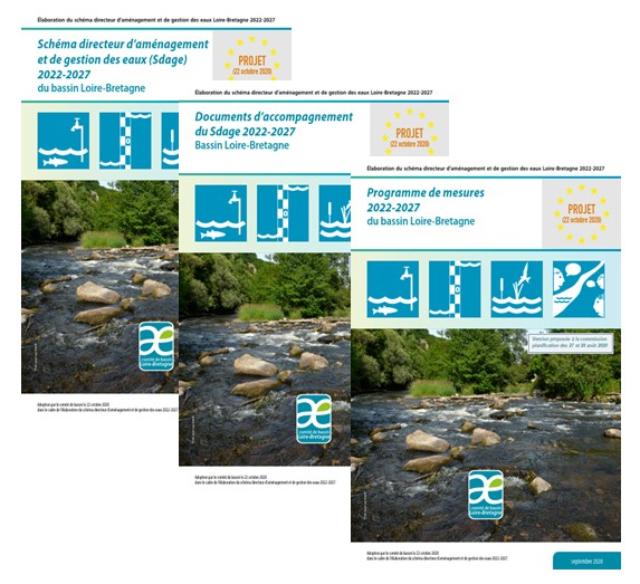 Bassin Loire-Bretagne : Adoption du projet de Sdage 2022-2027
