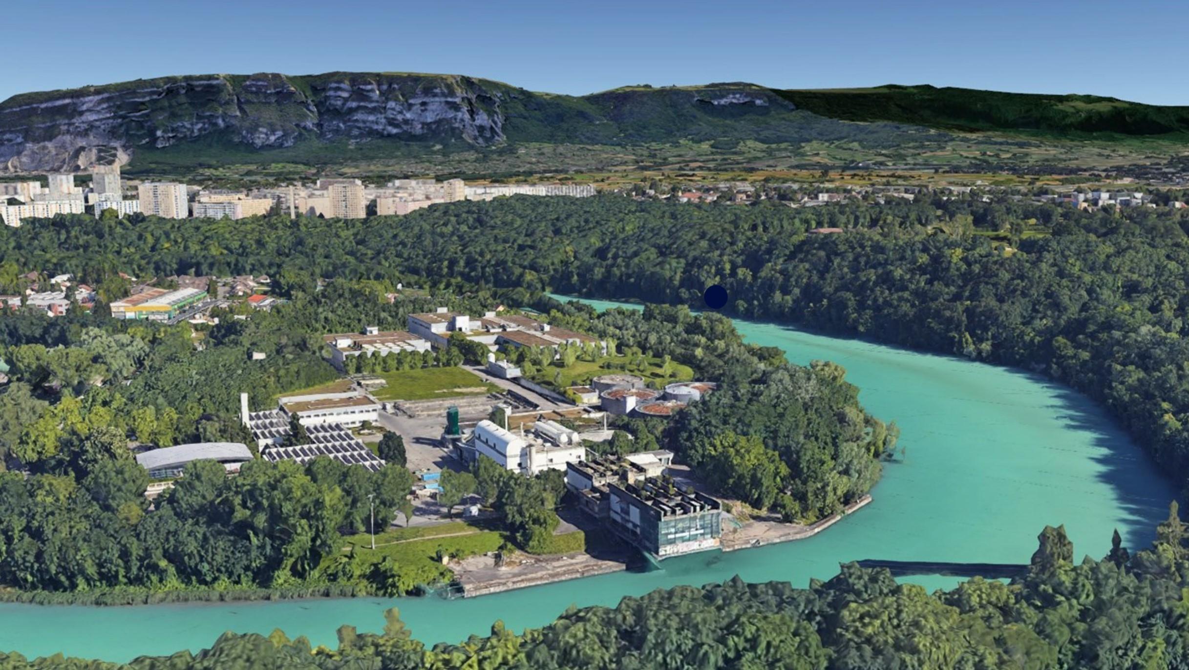 Suez retenu pour l'extension du traitement biologique de la station d'épuration d'Aïre, à Genève