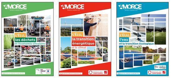 Déchets, énergie, eau : trois guides Amorce pour les élus locaux