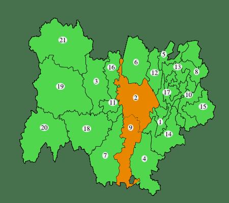 Air : Vigilance orange en vallée du Rhône et bassin lyonnais