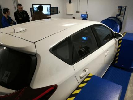 Des véhicules électriques et hybrides seront disponibles pour travailler sur les dernières technologies ©Cara European Cluster for mobility solutions