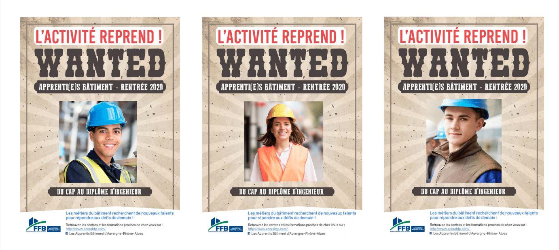 BTP : Nouvelle campagne de promotion de l'apprentissage