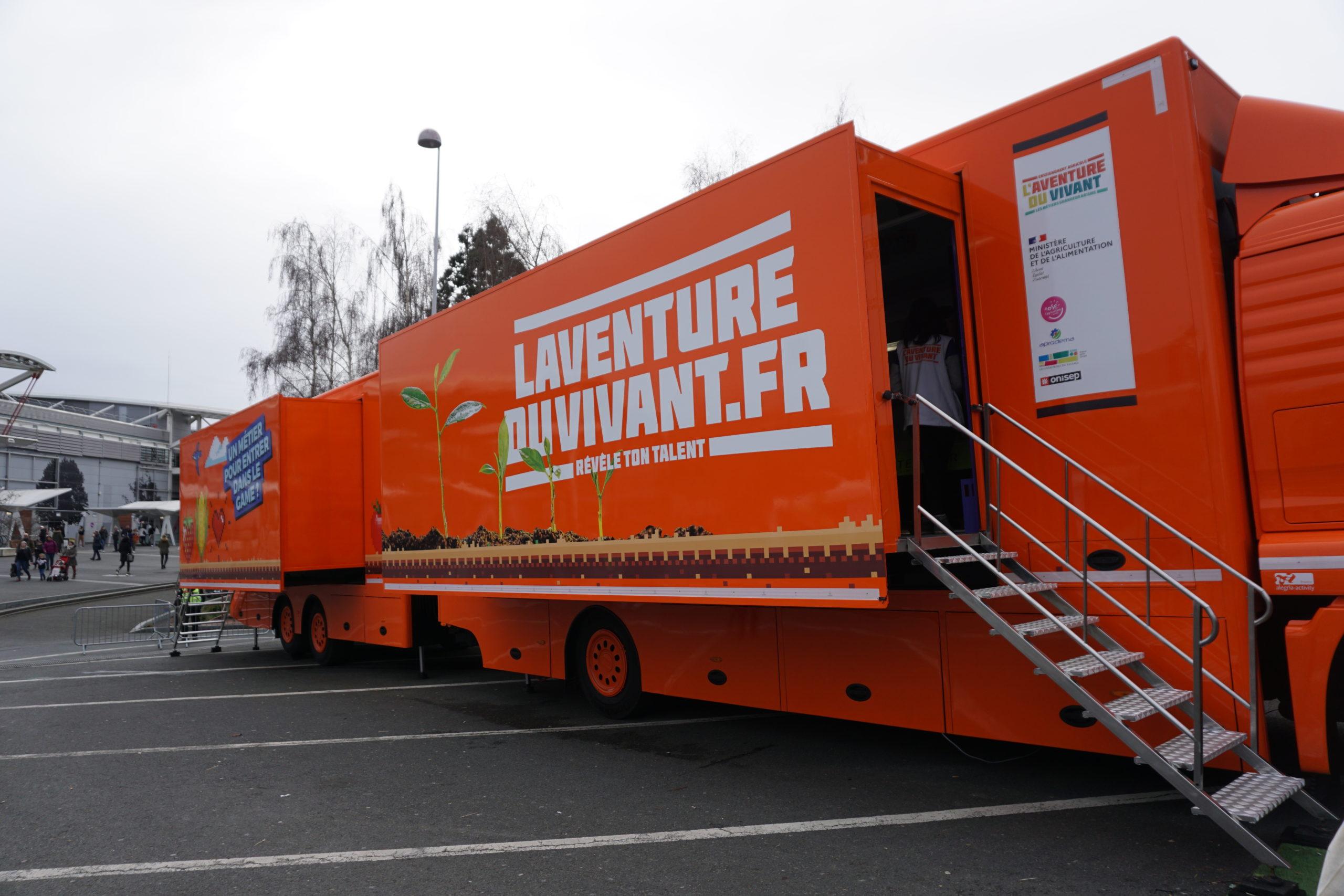 Enseignement agricole: la campagne « L'Aventure du vivant » de passage en Auvergne-Rhône-Alpes