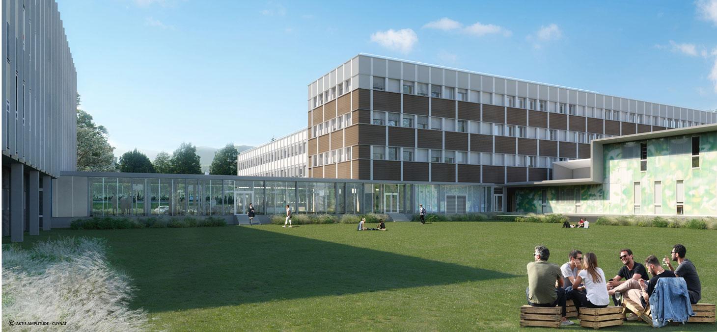LePôle éducation de l'UGA se regroupera dans des bâtiments rénovés