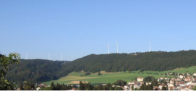 Vers un premier parc éolien dans le canton de Vaud