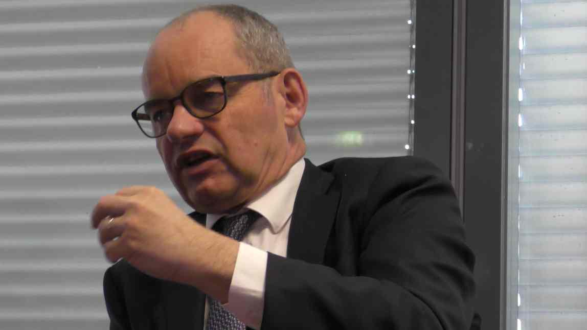 Patrick Jeantet, président directeur général de SNCF Réseau