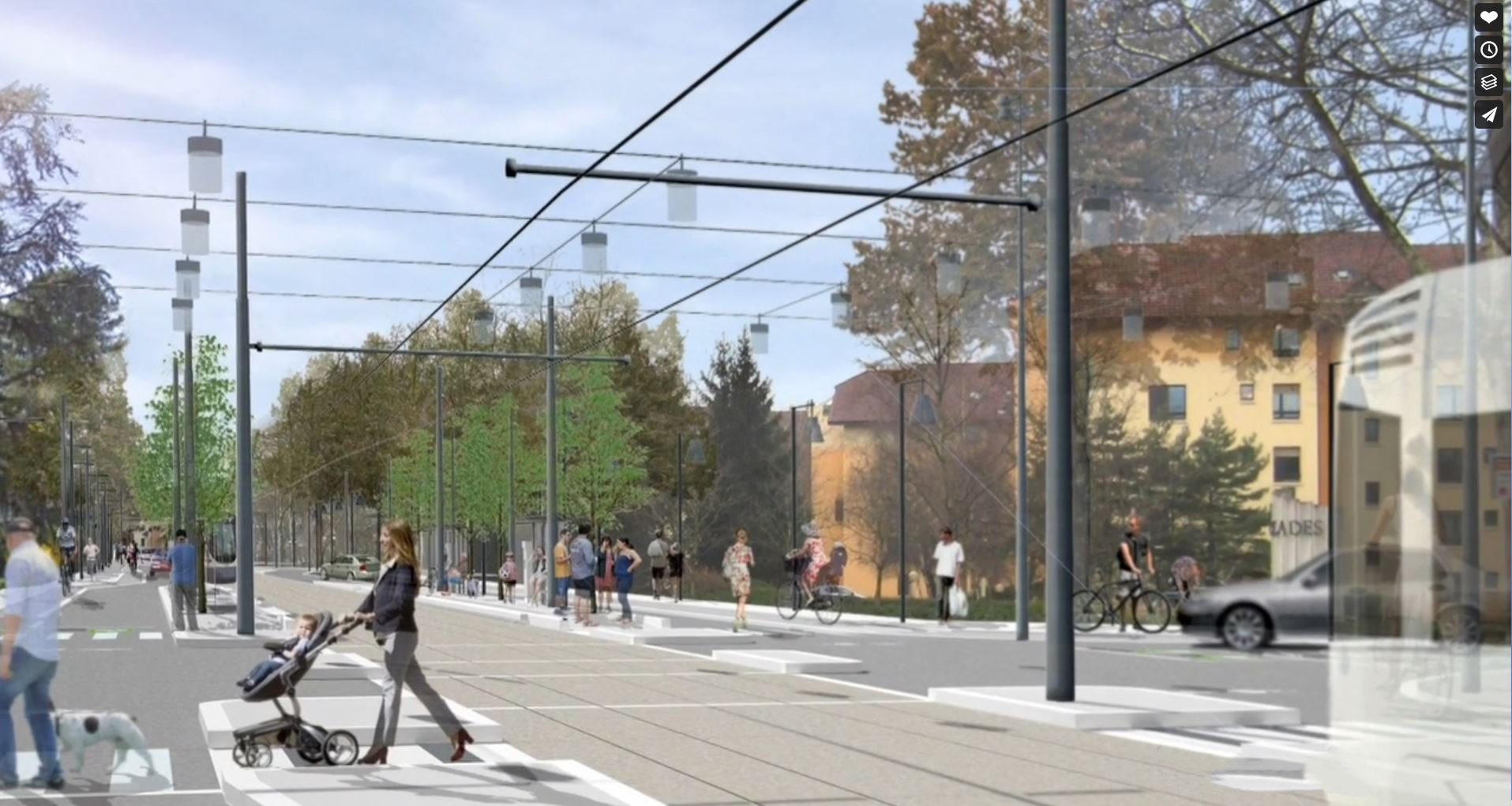 Haute-Savoie: 13,9 M€ pour le tramway de Saint-Julien-en-Genevois et 7 parkings relais