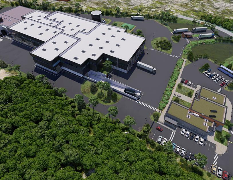 Déchets ultimes: le groupe Paprec construira une usine d'un nouveau genre près de Montélimar