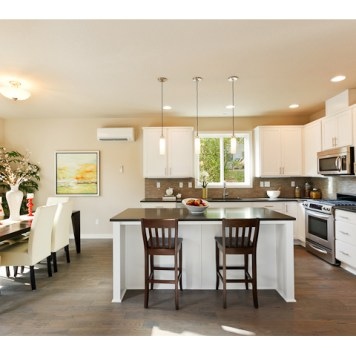 New Construction Kitchen-Dining
