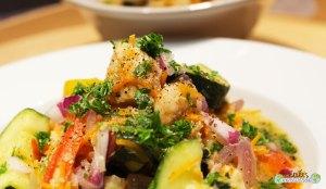 Bouillon-fenouil-poisson-crevettes-poivron-carotte rapée-5