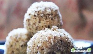 Billes de noix de coco à la noisette