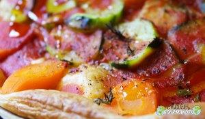 Sommerkuchen als Pizza
