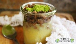 Verrine végétale saine et gourmande