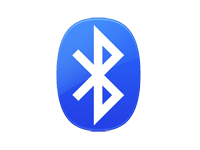 bluetooth colour icon