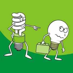 A lâmpada fluorescente expulsa a incandescente do mercado. Nossa saúde também chora.