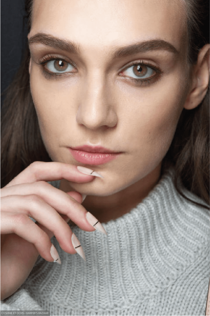 6 BEAUTY TRENDS TO STEAL FROM NYFW, skin, skincare, beauty, nyfw, new york fashion week, fashion, fblogger, bblogger, cushnie et ochs
