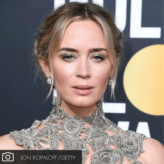 BEAUTY BREAKTHROUGHS AT THE GOLDEN GLOBES: Emily Blunt