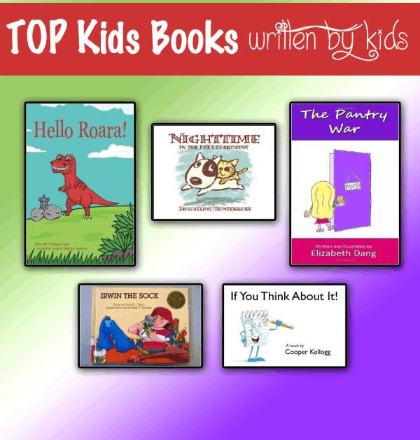 TOP Kids Books Written By Kids – Encourage Imagination