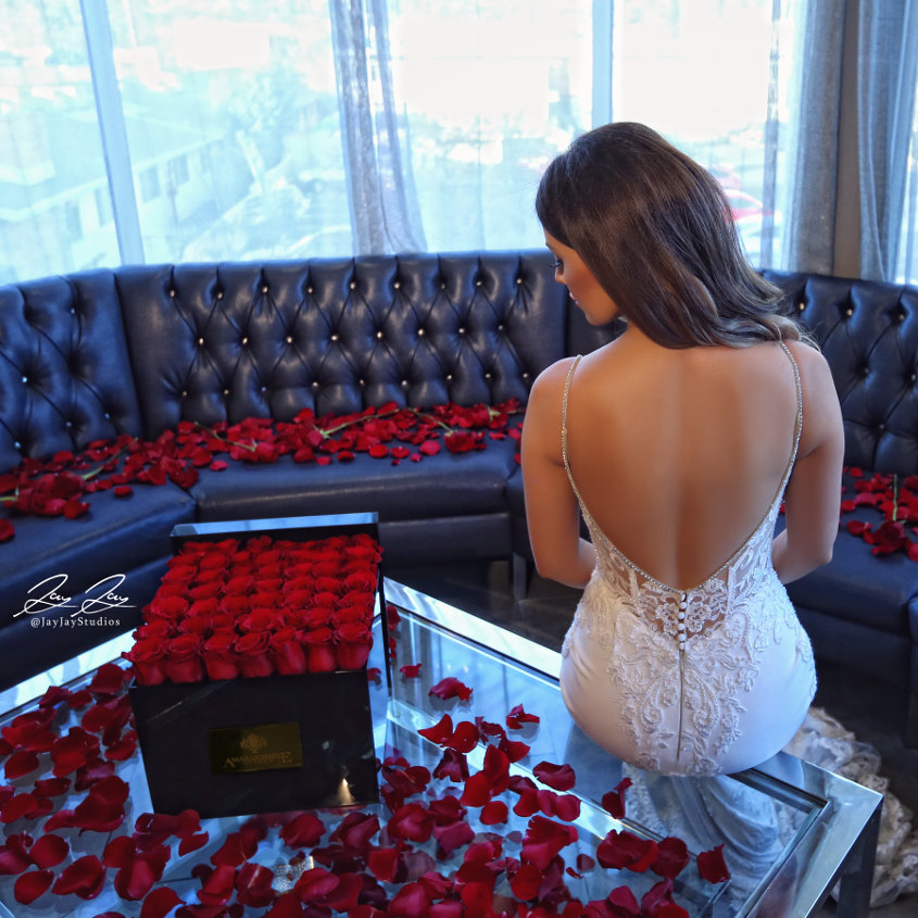 Styled Shoot Roses Are Red Enzoani