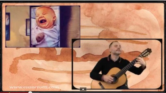 """New video from Enzo Crotti """"A Short Dialogue"""" (classical guitar to 432 Hz)"""