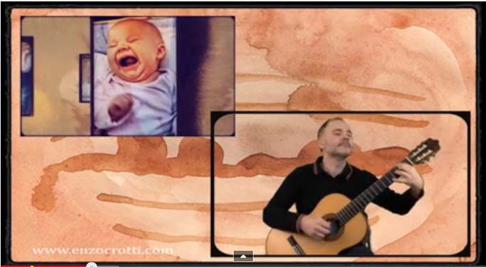 new video from enzo crotti a short dialogue classical guitar to 432 hz enzo crotti. Black Bedroom Furniture Sets. Home Design Ideas