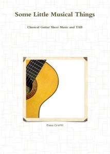 New collection of sheet music for classical guitar
