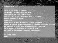 poesia sulla pioggia