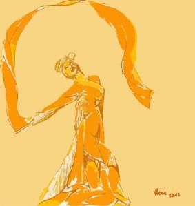 Ballerina orientale