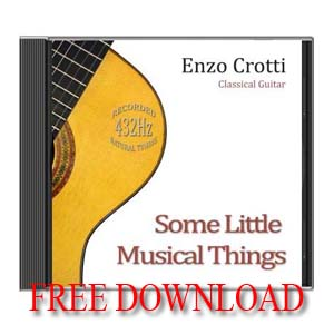 Album chitarra 432 Hz gratis