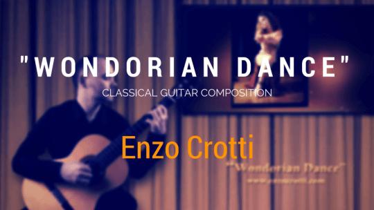 """Nuovo video di Chitarra Classica: """"Wondorian Dance"""""""