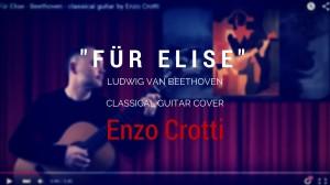 Fur Elise chitarra classica