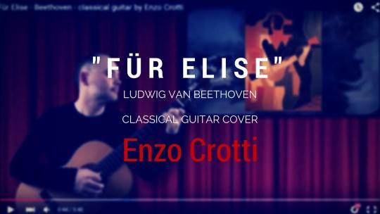 """""""Per Elisa"""", mp3 per chitarra classica a 432 Hz"""
