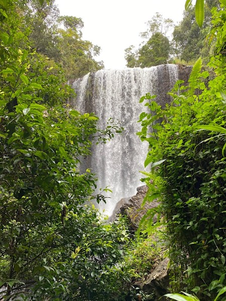 Zillie Falls, taken from the bottom of the track