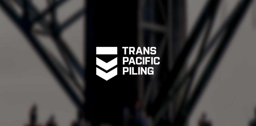 Trans Pacific Piling Branding Logo Design