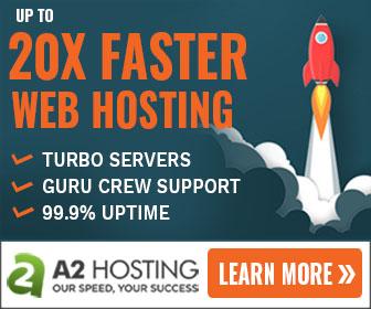 20X Faster Web Hosting
