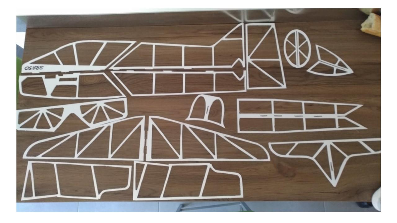 Construction d'un Osiris en Vector board