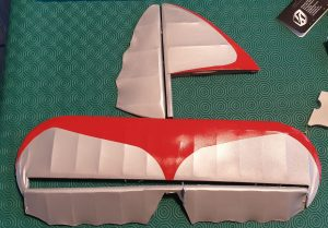 Read more about the article Finishing the tailplane