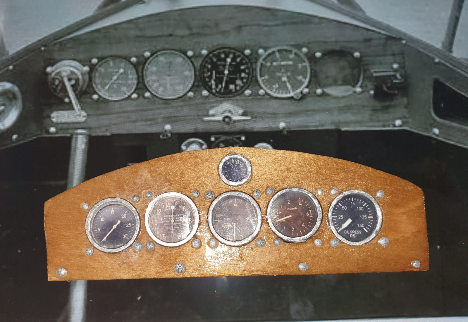 You are currently viewing How I reproduced the rivets on the dashboard