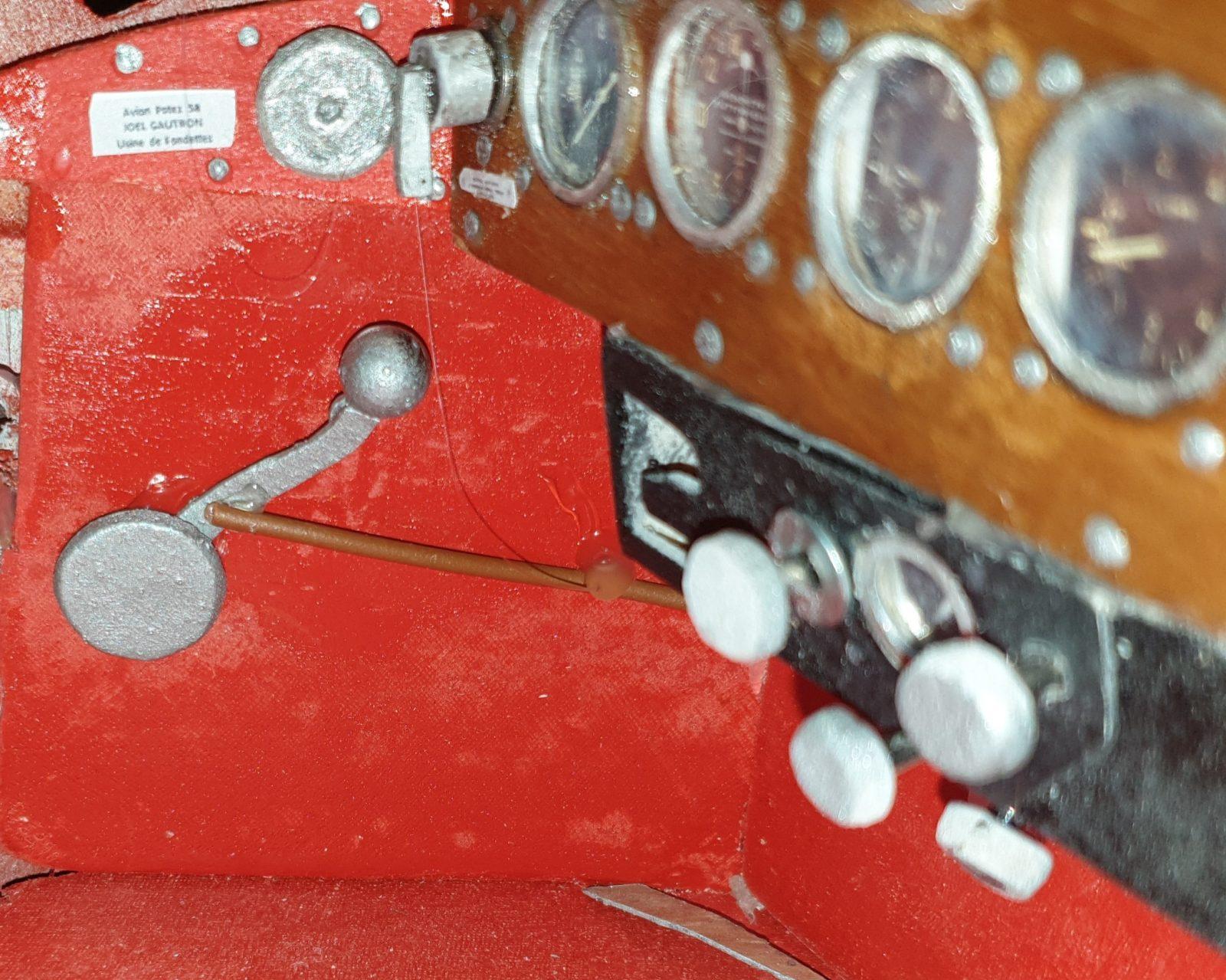 You are currently viewing Les détails maquette du Potez 58
