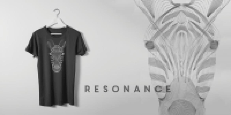 Tshirt zebre Collection resonance - EOLE PARIS