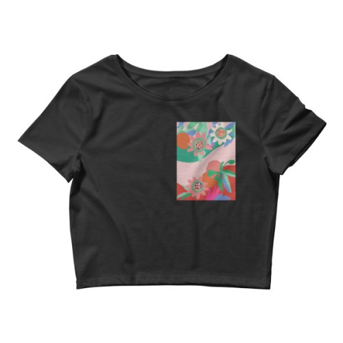 TROPICALIA | CROP T-SHIRT | EOLE Paris