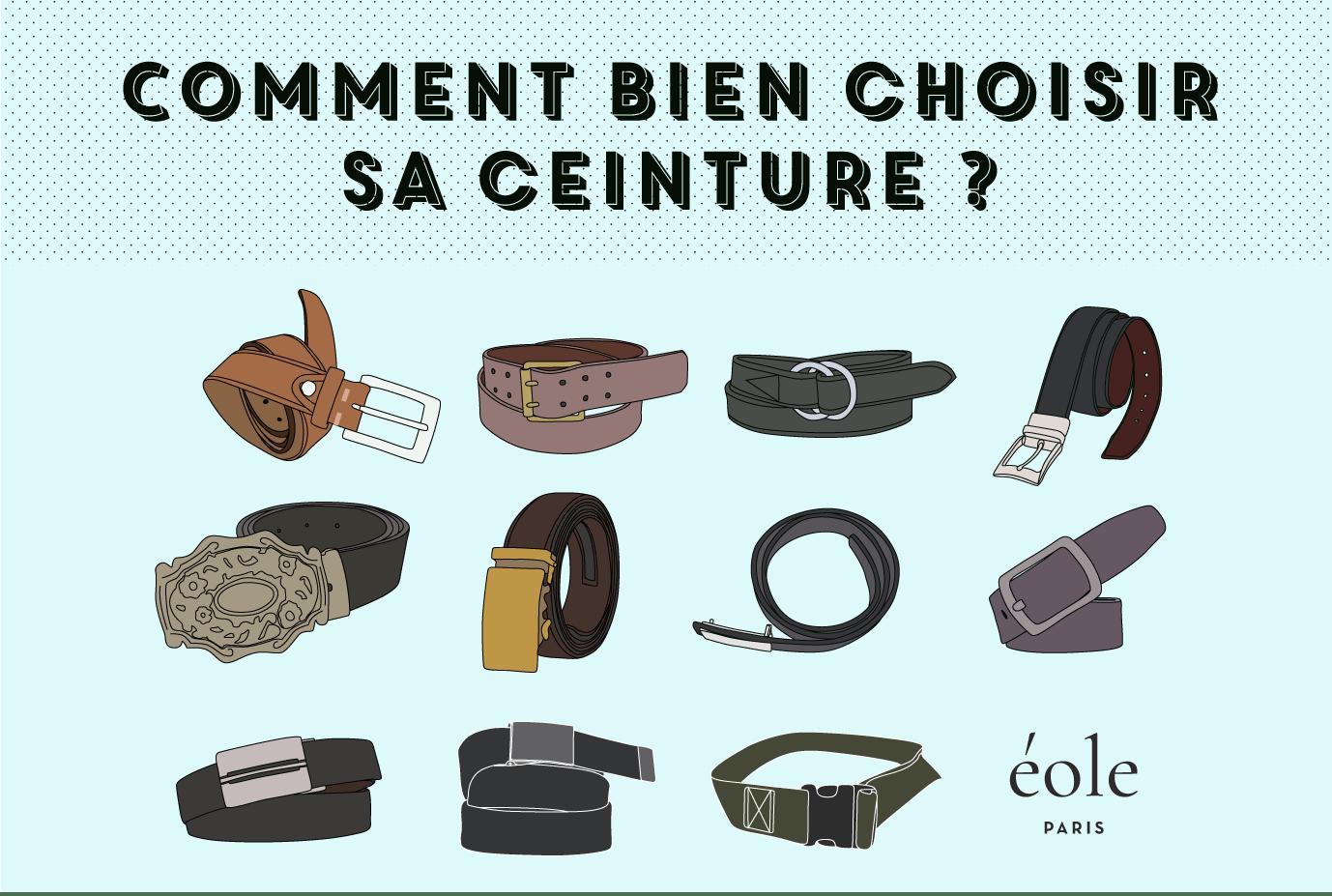 Comment Bien Choisir Sa Ceinture    Guide Complet  f6494f72259