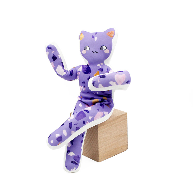 Yogitoys Ultra Violet - Collection Terrazzo