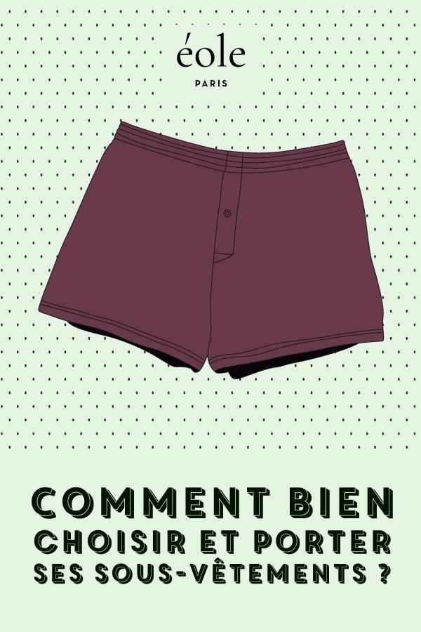 Comment bien porter ses sous vêtements - EOLE PARIS