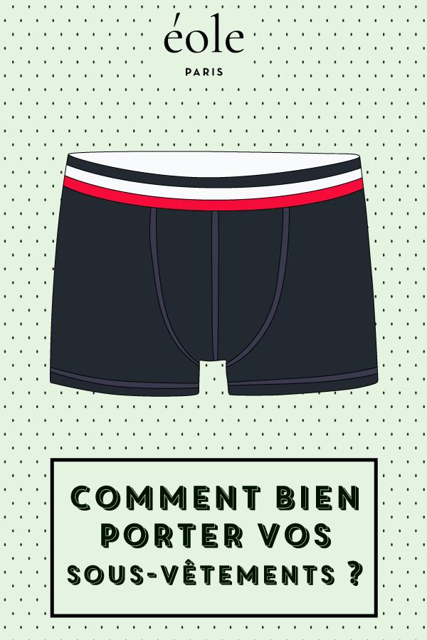 Comment bien choisir vos sous vêtements ? EOLE PARIS