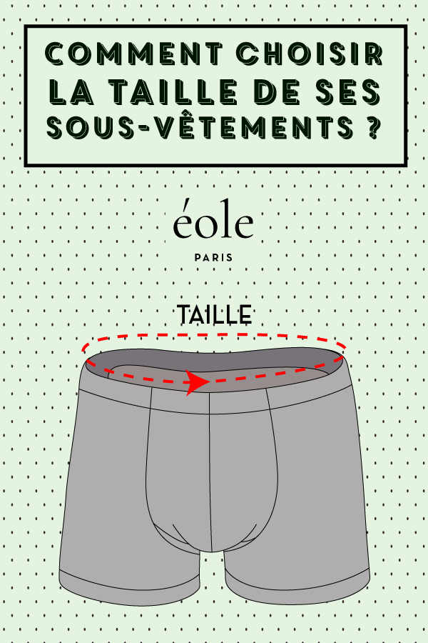 Comment choisir la taille de vos sous vêtements ? EOLE PARIS
