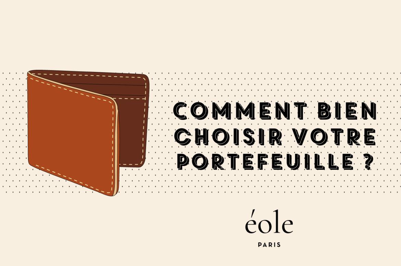 Comment choisir votre portefeuille ? EOLE PARIS
